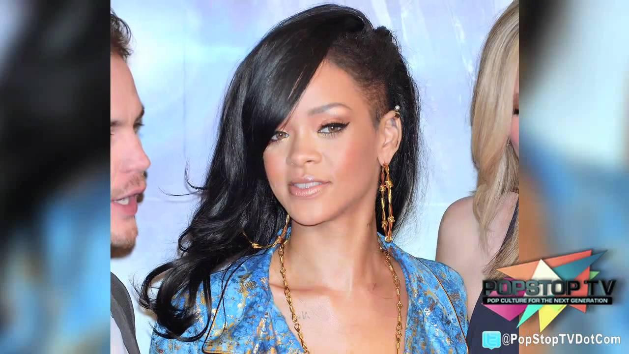 Rihanna Debuts Half Shaved Head In Japan Youtube