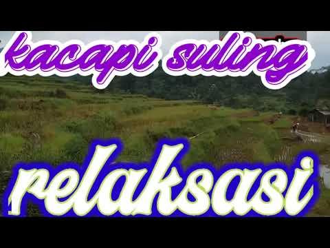 #relaksasi-#kacapi-suling-dengan-pemandangan-khas-pedesaan