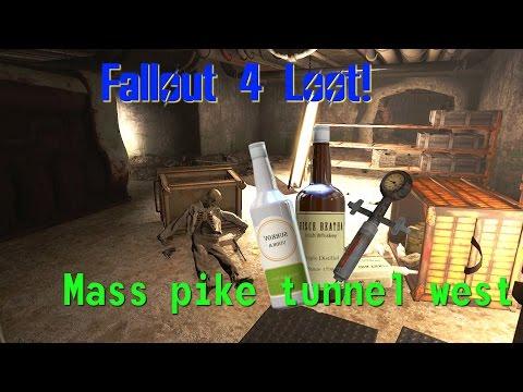 Fallout 4: Secret Hidden Loot in Mass Pike Tunnel West