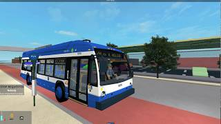 Nassau Transit Authority (Roblox) - France 2019 Novabus LFS HEV #1974 Route n50 à Queensview Transit Ctr