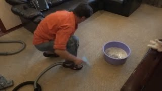 видео Как почистить ковролин без моющего пылесоса
