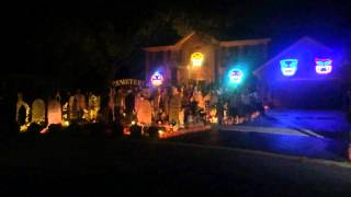 Halloween Light Show 2014, AC/DC Hells Bells