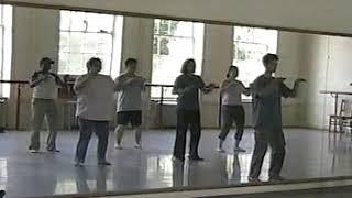 Tai chi form class at VCU