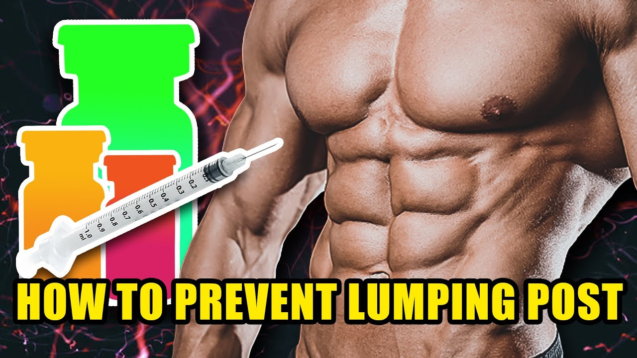 How To Prevent Lumping Post-Administration On TRT Or During A Blast
