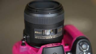 Компанія Nikon 40 мм F/2.8 АФ-з мікро-Никкор практичний коментар