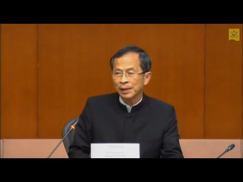 Media briefing by the Chairman of The Legislative Council Commission (2014/06/19)