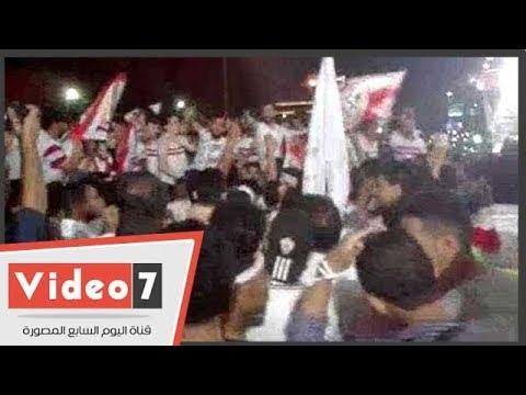 شاهد فرحة أبناء ميت عقبة بعد تتويج الزمالك ببطولة كأس مصر  - 00:26-2018 / 5 / 16