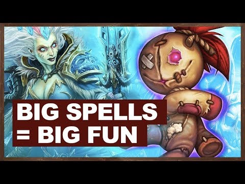 Big Spells = Big Fun | Big Spell Mage 2018 | The Witchwood Hearthstone