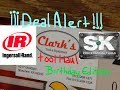 Deal Alert! Clark's Tool Haul Birthday Edition
