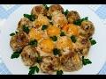 Вкусно - тефтели мясные с картофелем в сливочном соусе рецепт