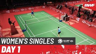 HSBC BWF World Tour Finals | Day 1: Tai Tzu Ying (TPE) [2] vs. Pusarla V. Sindhu (IND)