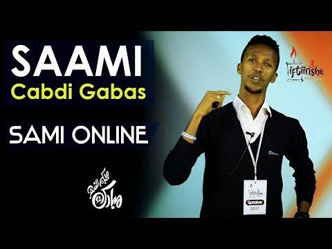 """Iftiinshe3 / Xalqada 7aad / Sami Gabas / saami cabdi gabas,, /  """"sami online"""