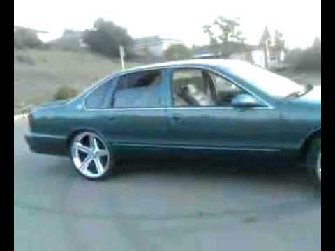 Impala Ss On 22 Inch Irocs Youtube