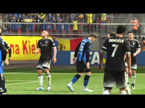 FIFA 16 playing fut