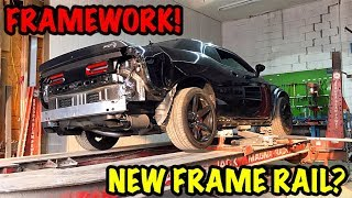 Rebuilding A Wrecked 2017 Dodge Hellcat Part 3