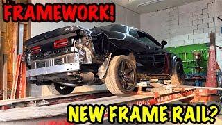 Rebuilding A Wrecked 2017 Dodge Hellcat Part 3