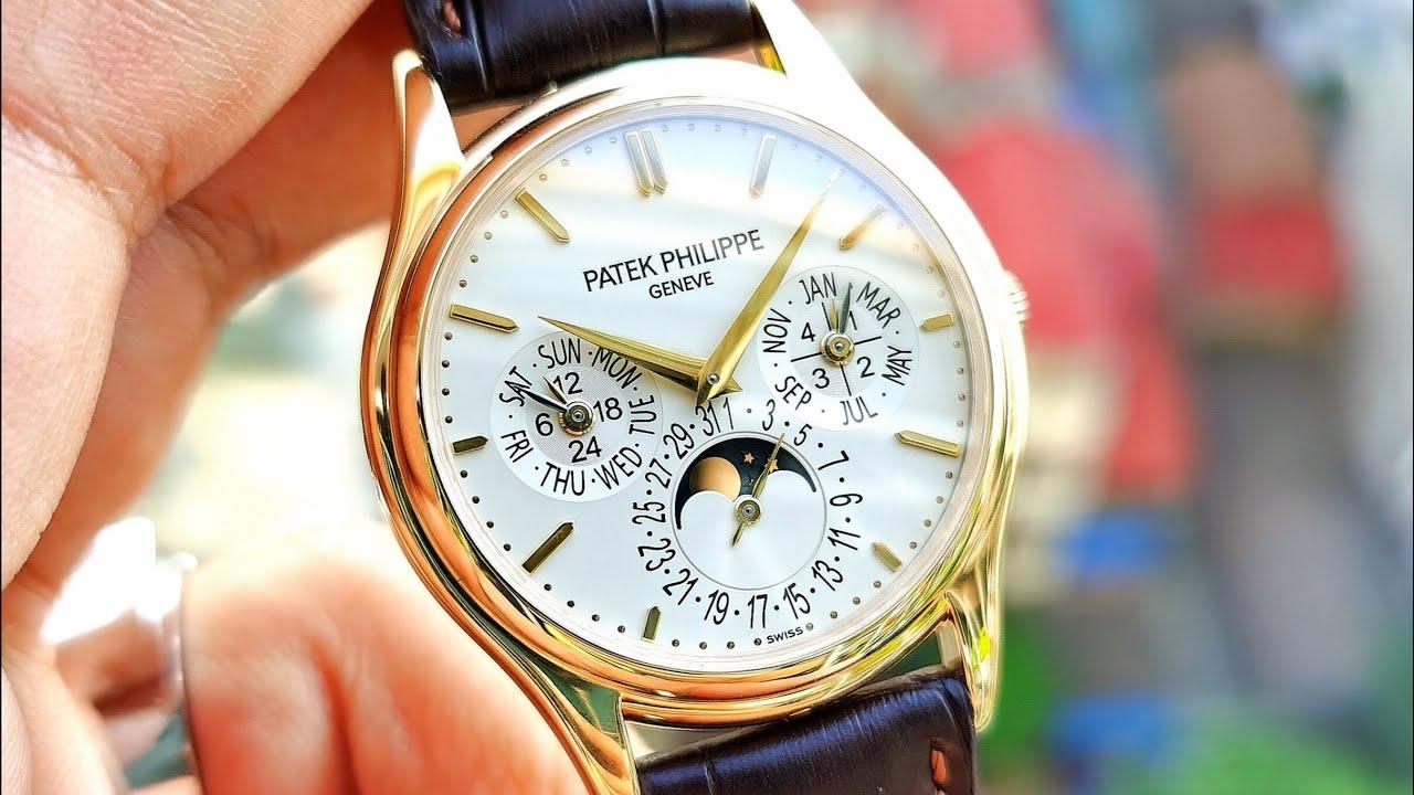 [Đỉnh Cao] Patek Philippe Calatrava Grand Complication Perpetual Calendar 5140J-001 | ICS Authentic