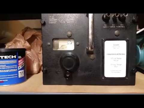General Radio 722 MEQ Precision Capacitor Follow Up