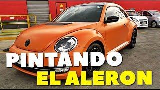 PINTANDO EL ALERON DEL BEETLE | ManuelRivera11