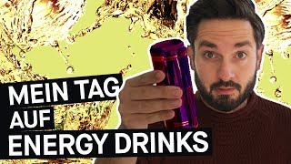 Selbstversuch: Was machen Energy-Drinks mit dir? 2 Liter an einem Tag || PULS Reportage