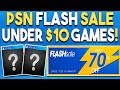 10 GREAT PS4 Game Deals UNDER $10 NOW! - PSN FLASH SALE