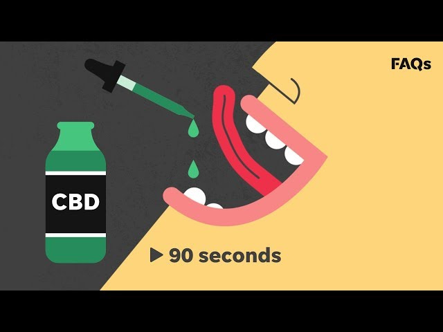 What's all the buzz about CBD oil? | Just The FAQs