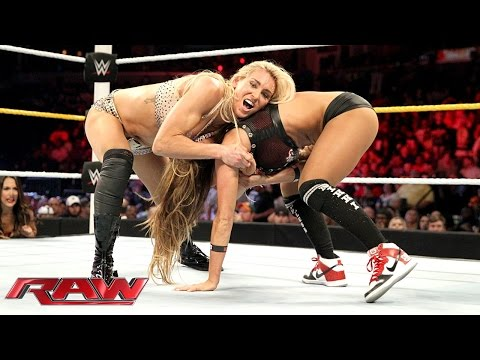 Charlotte vs. Nikki Bella - Divas Championship Match: Raw, Sept. 14, 2015
