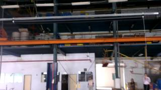 8 X 5m Projector Screen Testing