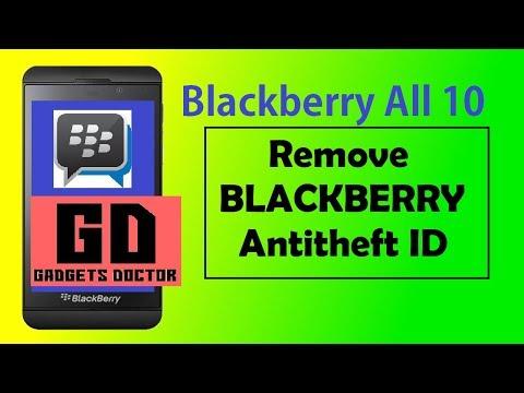 Blackberry Z10 Remove Blackberry ID -2018