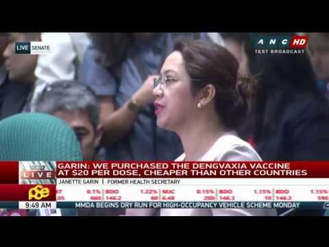 WATCH: Senate probe on Dengvaxia controversy Dec 11, 2017