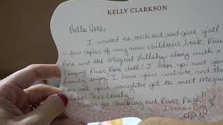 Kelly Clarkson Sent Me A Letter!! Daily Vlog