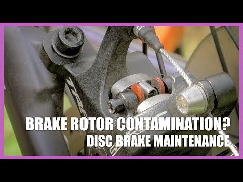 Cleaning Contaminated Disc Brake Rotors - Giant Liv Invite Gravel bike