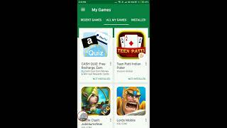 How to download and install Games from Google Play Games on your Androids and iOS.