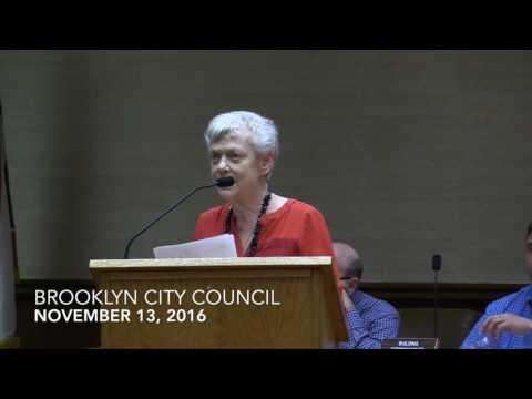 Brooklyn Council Meeting 11/14/16