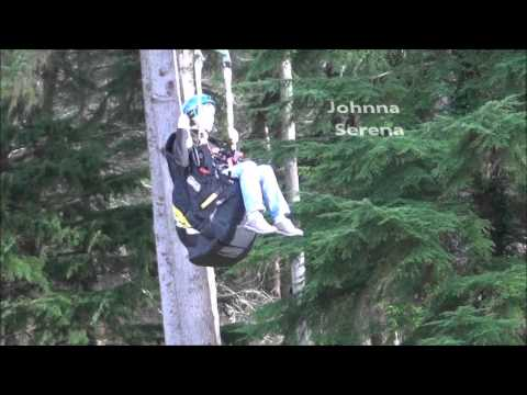 Seattle Paragliding: Zip Line Reserve Parachute Training & Testing
