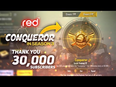 Conqueror In Season 3 Too Easy Conqueror Thank You For 30 K
