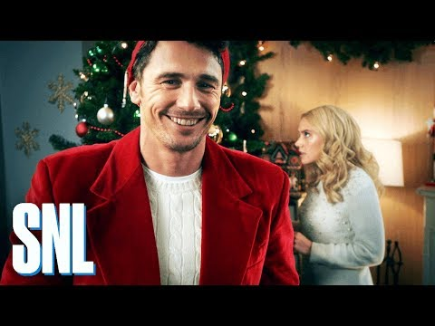 Cut for Time: Hallmark Channel Christmas  James Franco  SNL