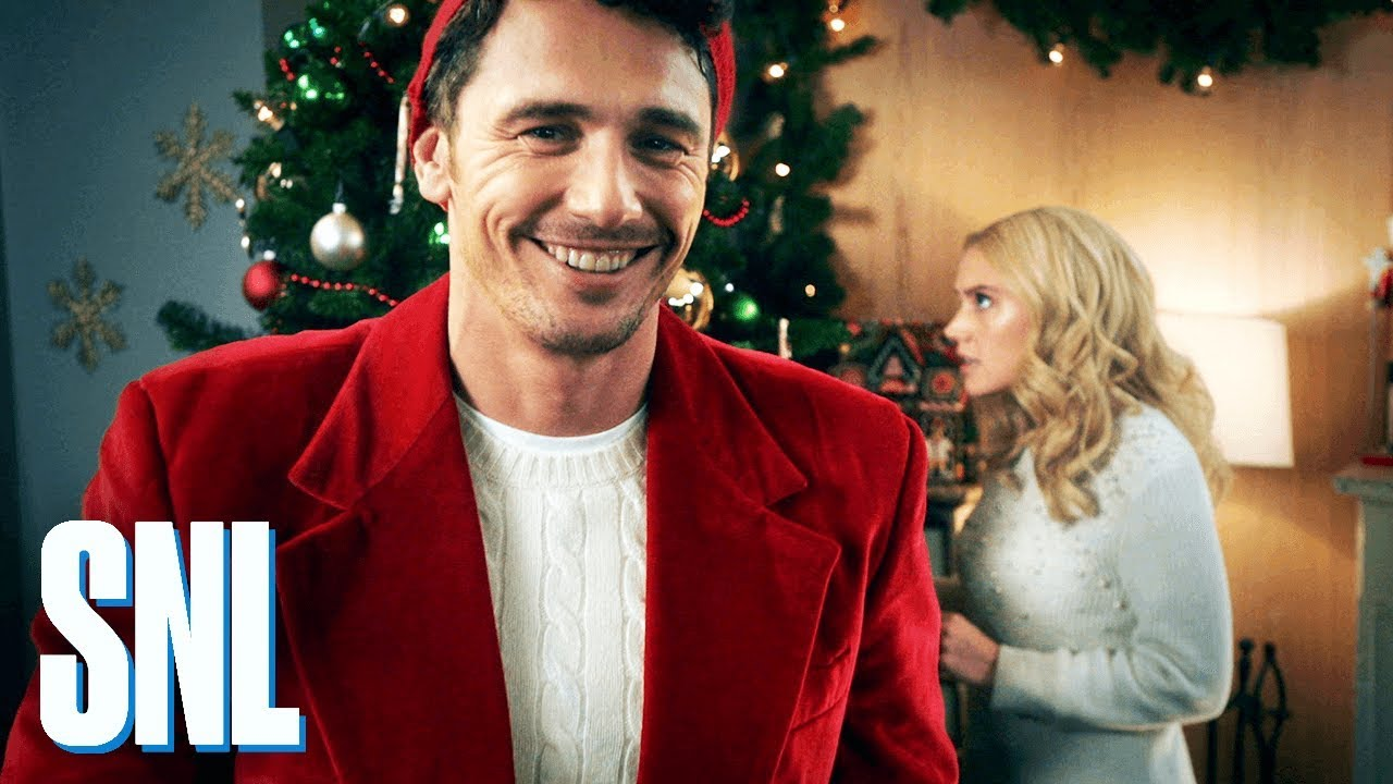 Cut for Time: Hallmark Channel Christmas Promo (James Franco) - SNL ...