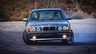 Купил БМВ Е34, поменял ТРИ мотора. Бюджет СТАРОЙ BMW? Грузин и история его Жмурки.