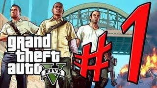 Grand Theft Auto V - Parte 1: Bem-Vindo à Los Santos Like a Boss [ Playthrough GTA 5 em PT-BR ]