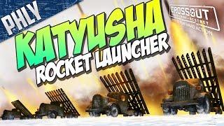 Crossout - KATYUSHA ROCKET ARTILLERY (Crossout Gameplay)