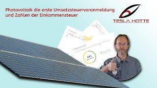 Umsatzsteuervoranmeldung Elster Photovoltaik 13