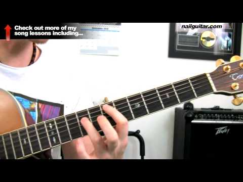 How to play 'Sing' by My Chemical Romance - Guitar Tutorial - How To Play Guitar Lessons