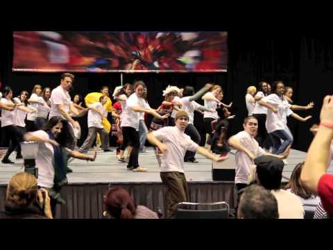 Flash Mob, The Happy Apps, Bollywood, blue13 dance company