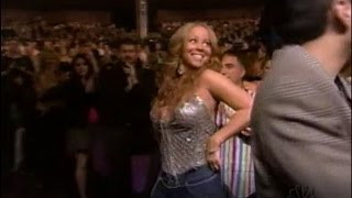 Mariah Carey namedrops everyone from Jay-Z to Jermaine Dupri at 2005 RMAs