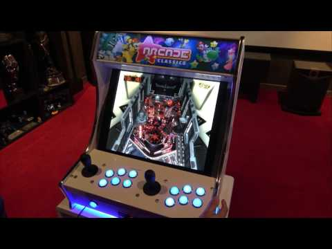 BORNE D'ARCADE BARTOP PC HYPERSPIN EMULATEURS RETROGAMING