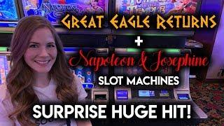 EPIC Comeback on Napoleon and Josephine Slot Machine!!