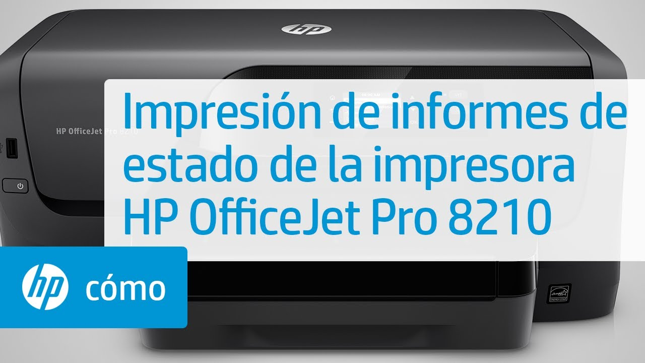 Impresi 243 N De Informes De Estado De La Impresora Hp