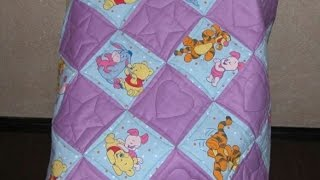 How To Sew A Pretty Baby Quilt - Diy Home Tutorial - Guidecentral