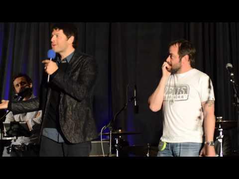 Mark Sheppard Crashes Misha Collins' Panel